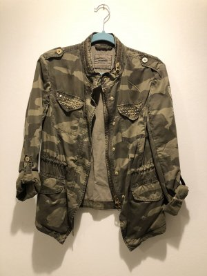 Camouflage Baumwoll Jacke