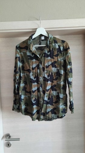 Camouflage Bluse H&M Gr.38