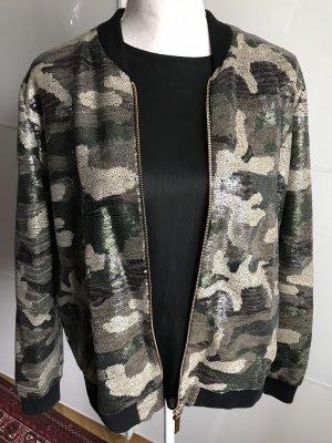 Camouflage Bomberjacke von River Island