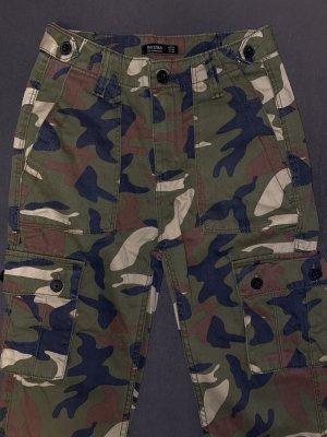 camouflage cargohose
