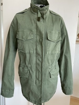 Camouflage Couture Military Jacket khaki