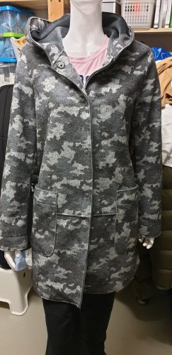camouflage dufflecoat grau von Smith and Soul