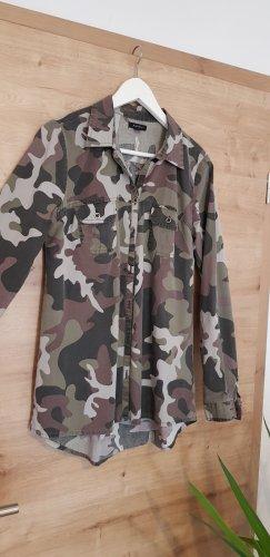 Amisu Long Sleeve Shirt multicolored cotton