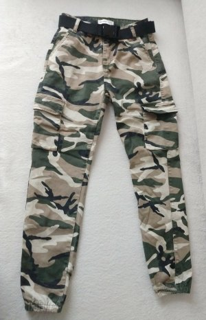 Goodies Cargo Pants multicolored cotton