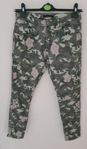 place du jour Stretch Jeans pink-khaki