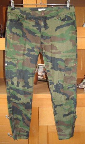 Forever 21 Pantalon cargo multicolore