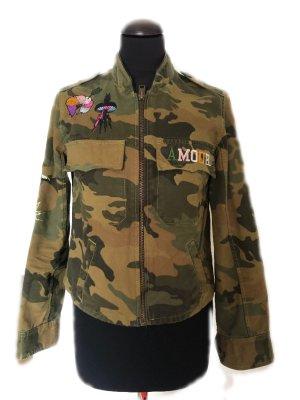 Zadig & Voltaire Giacca militare multicolore