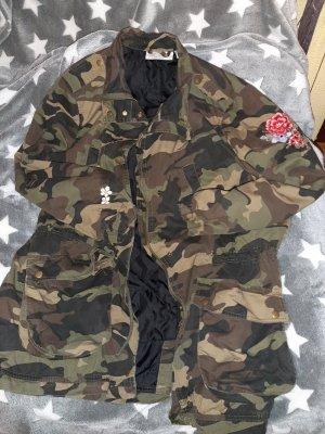 Camouflage Jacke Gr 52