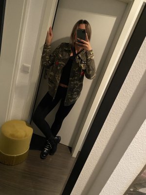 Forever 21 Military Jacket multicolored