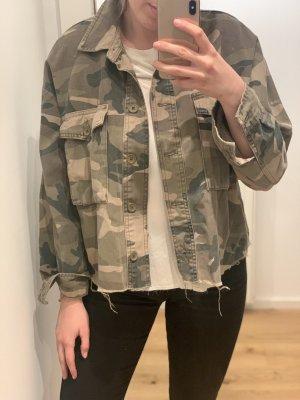 Camouflage Jacke Oversized