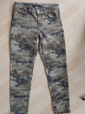 Oui Skinny Jeans multicolored