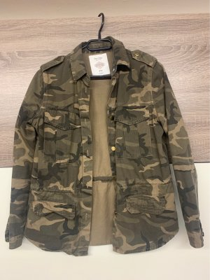 Camouflage Jeansjacke