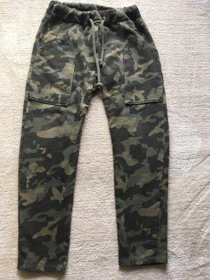 Camouflage-Jogginghose