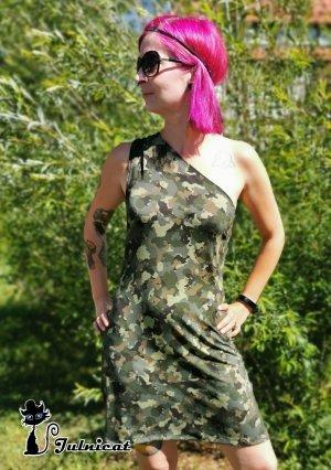 Camouflage Kleid Gr.36