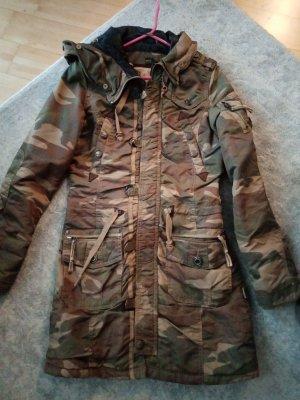 Camouflage Mantel Khujo