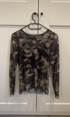 Camouflage Mesh-Shirt