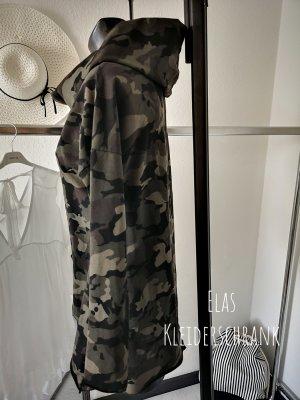 ⋙•-•-•-•➤Camouflage Sweater military Army Look oversized Pullover Neu m. Etikett 36-40 ◉