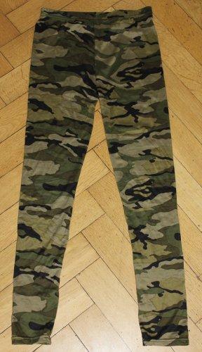 Camouflage Trend! Leggings Gr. XS 34 36