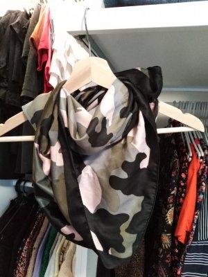 H&M Divided Zijden sjaal veelkleurig