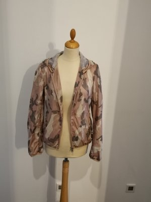 camouflage Windbreaker /Regenjacke in Rose