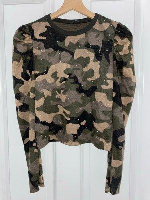 Camouflage Zara Pullover