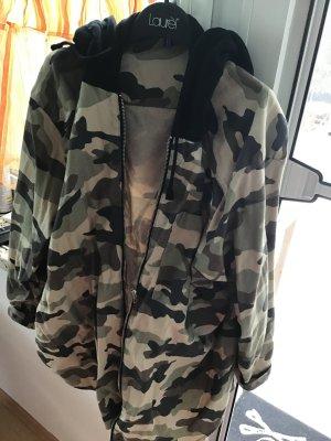 Camouflagehemd mit Kapuze in 54 h u m