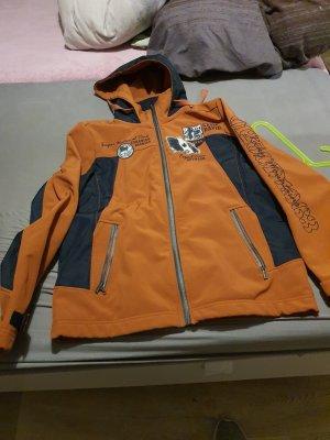 Camp David Softshell Jacket orange