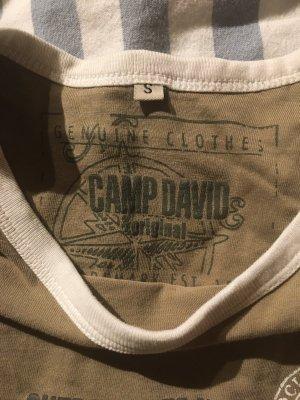 Camp David Basic Shirt green grey-khaki