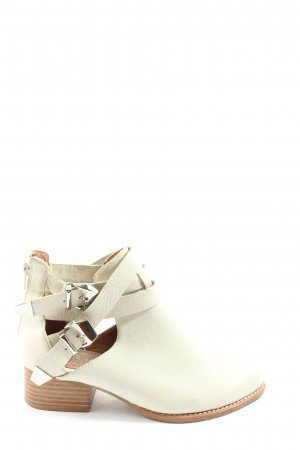 Campbell Ankle Boots natural white casual look