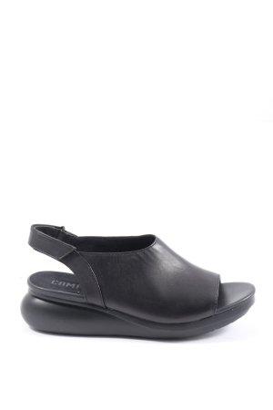 Camper Sandalo comodo nero stile casual