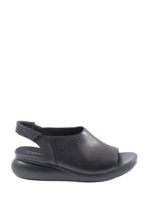 Camper Komfort-Sandalen schwarz Casual-Look