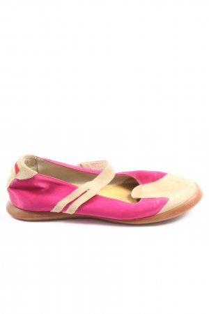 Camper Mary Jane Halbschuhe pink-creme Casual-Look