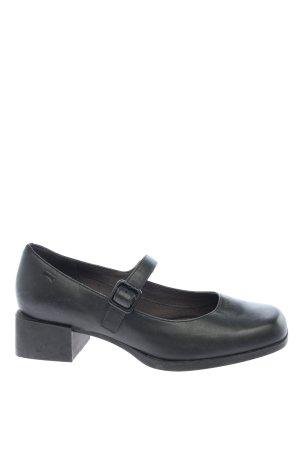 Camper Chaussures Mary Jane noir style décontracté