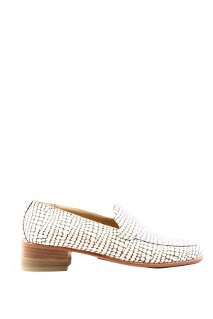 Camper Moccasins natural white-brown allover print casual look