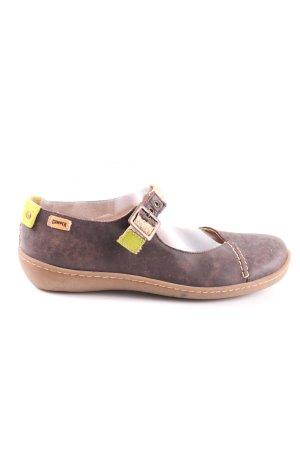 Camper Slip-on Shoes brown-primrose casual look