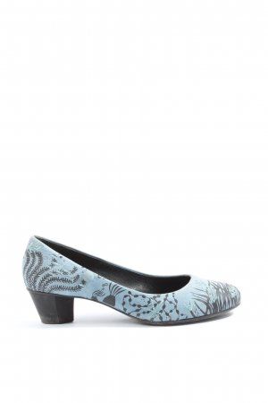 Camper Slip-on bleu-brun motif abstrait style d'affaires