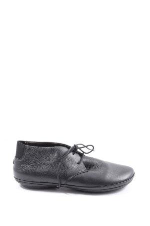 Camper Chaussures à lacets noir style d'affaires