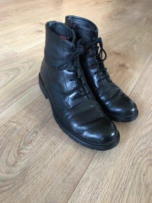 Camper Lace-up Boots black