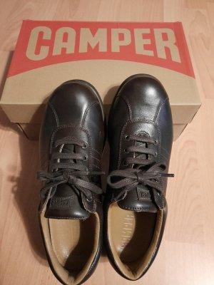 Camper Lace-Up Sneaker dark brown