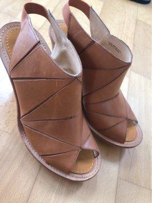 Camper Platform Sandals camel