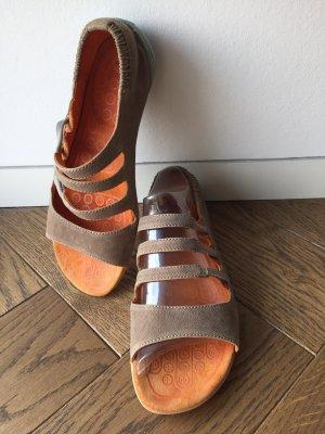 Camper Outdoor Sandals beige-dark orange leather