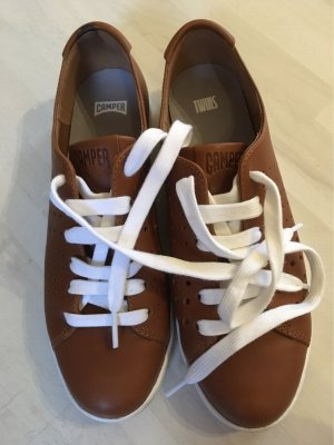 Camper Lace-Up Sneaker brown-cognac-coloured
