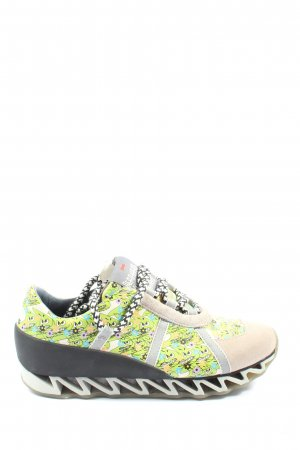 Camper Wedge Sneaker abstraktes Muster Casual-Look