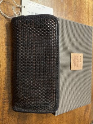 Campomaggi Wallet grey brown-taupe