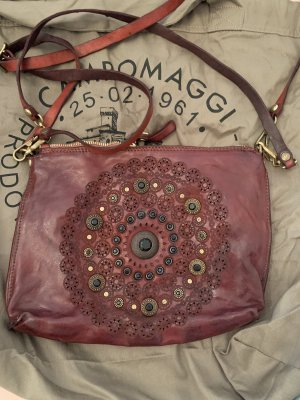 Campomaggi Pouch Bag bordeaux leather