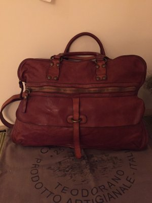 Campomaggi Briefcase cognac-coloured leather