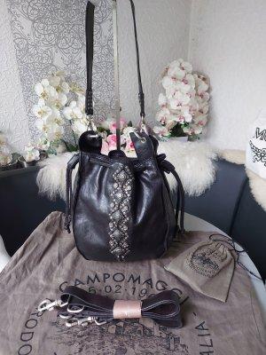 Campomaggi Special Bucket Bag Tasche Echtleder schwarz NEU Beuteltasche