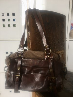 Campomaggi Shoulder Bag dark brown