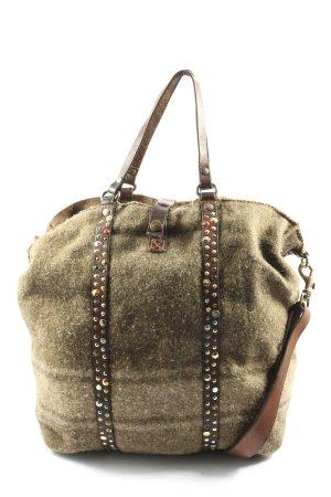 Campomaggi Crossbody bag khaki casual look