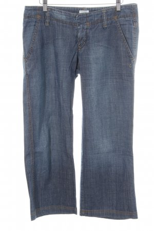 Campus by Marc O'Polo 3/4-Hose blau Casual-Look